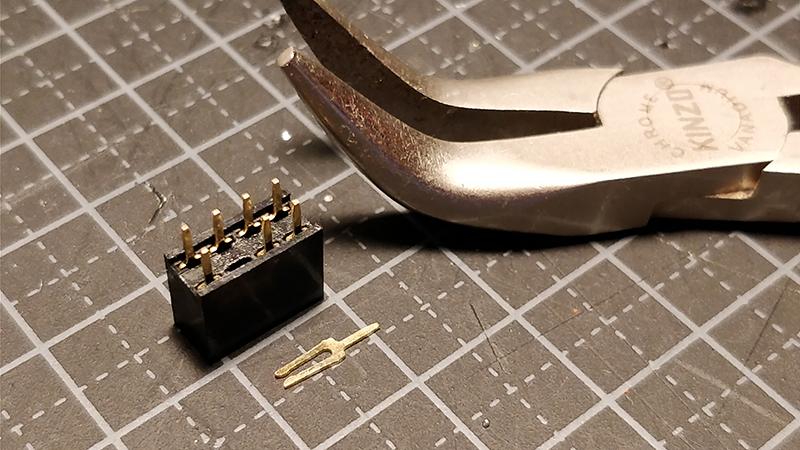 pin header prepare