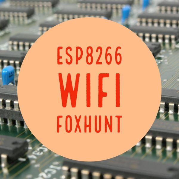 WIFI FOXHUNT ESP8266